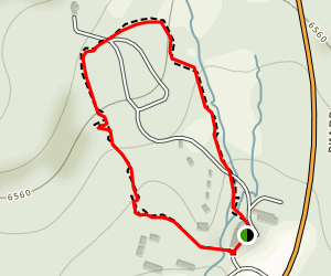 Lady of the Woods Trail Map