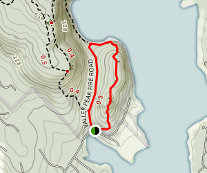 Flying Mountain Trail Map