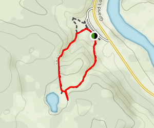 Mud Volcano Trail Map