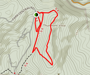Thurmont Vista Map
