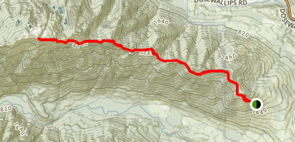 Mount Jupiter Trail Map
