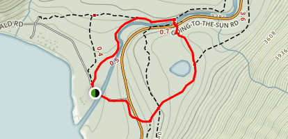 Johns Lake Loop Map