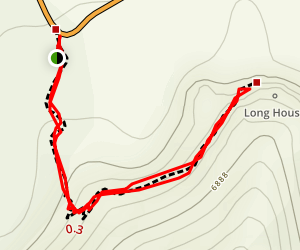 Long House Trail Map