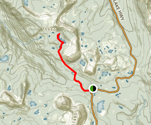 Cuberant Lakes Trail Map