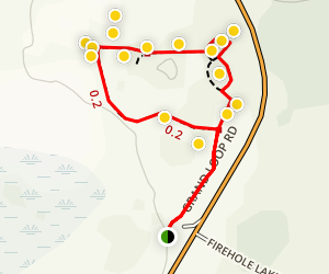 Fountain Paint Pot Trail Map