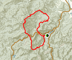 Coosa Backcountry Trail Map