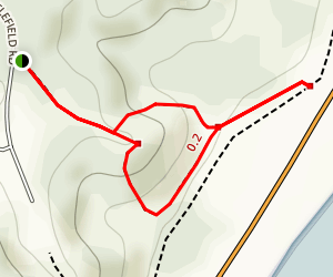 Fraser Burial Site Trail Map