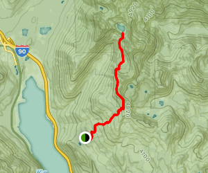 Lake Lillian Trail Map