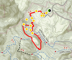 Jack London State Historic Park Trail Map