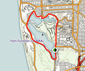 Lake Merced Trail Map