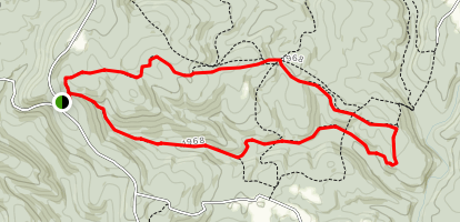 Quebec Run Wild Area Trail Map