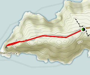 Point Reyes Lighthouse Visitor Center Trail Map