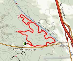 Boston Run Trail Map