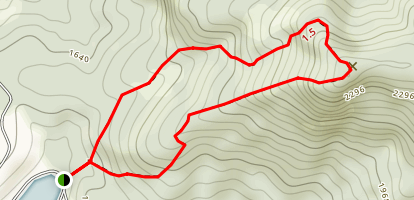 Baker Mountain Map