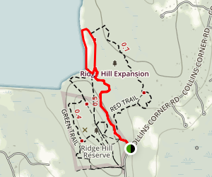Ridge Hill Reserve Map