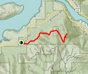 Stahlman Point Trail Map