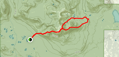 Mount Katahdin Loop Map
