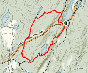 Hubbard-Perkins Conservation Area /Charcoal Burners Trail Map