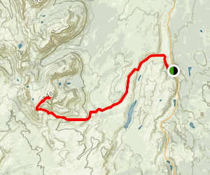 Mount Holmes Trail Map