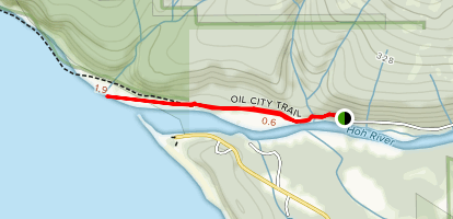 Oil City Trail Map