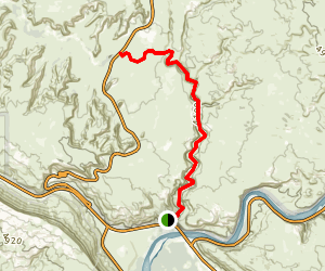 Courthouse Wash Map