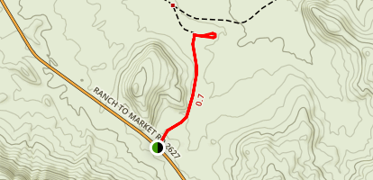 Black Gap WMA Trail Map