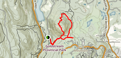 Mount Finlayson Map
