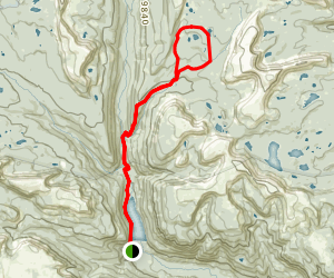 Squaw Basin Trail Map