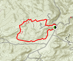Sage Ranch Loop Trail Map