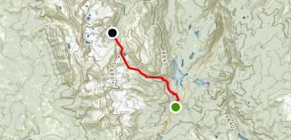 Blue Lake Trail Map