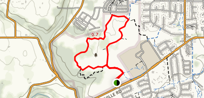 Graham Oaks Nature Park Trail Map