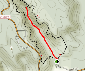 Conkle's Hollow Gorge Trail Map
