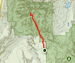 Hop Valley and Kolob Arch Trail Map
