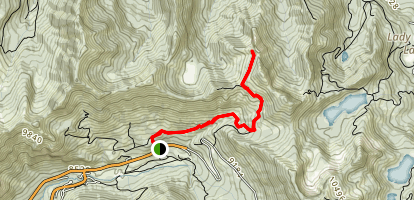 Prince of Wales Mine Trail Map