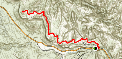Navajo Knobs Trail Map