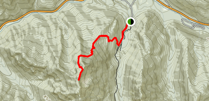 Kessler Peak Trail  Map