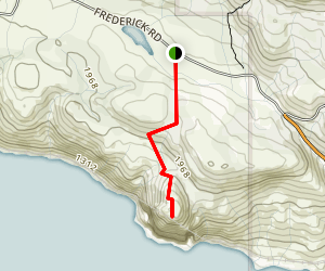 Battle Bluff Trail Map