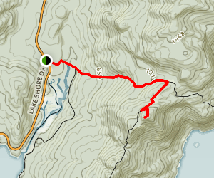 Fifth Peak Trail Map