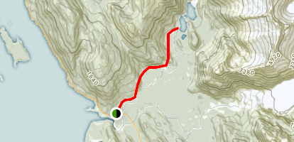 Eagle Lake Trail Map