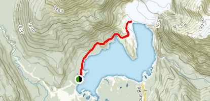 Ice Cave Trail Map
