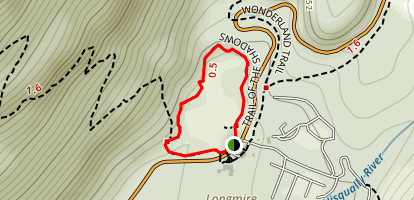 Trail of the Shadows Trail Map
