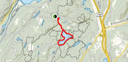 Teatown Lake Trail Map