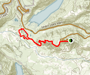 Boundary West Trail Map