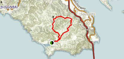 Gerbode Valley Loop Map