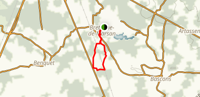 The Laborde Loop Trail Map