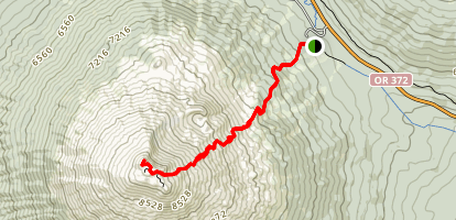 Mount Bachelor Trail Map
