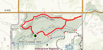 Pepin Brook Trail Map