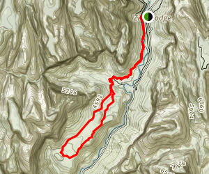 Sand Bench Trail Map