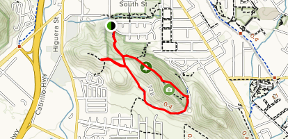 South Hills Trail Map