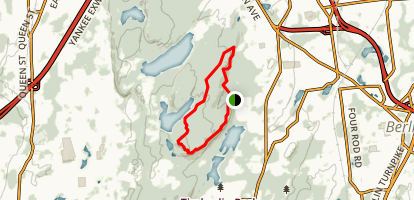 Ragged Mountain Preserve Trail Map